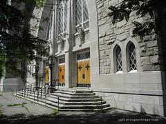 Eglise Notre-Dame-de-la-Paix 10 (Vanishing Montréal) Tags: art history architecture photography montreal demolition histoire newconstruction villedemontreal disappearinghistory