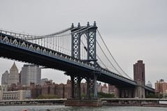 Manhattan Bridge (Ryan Hadley) Tags: newyorkcity bridge usa newyork river manhattan manhattanbridge eastriver rivercruise