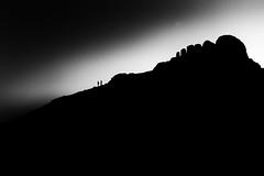 Simplicity (RattyBoots) Tags: bw silhouette canon fisheye crop 7d dartmoor haytor samyang8mmfisheye
