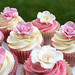 """Rose wedding cupcakes 17 Aug '13 • <a style=""""font-size:0.8em;"""" href=""""https://www.flickr.com/photos/68052606@N00/9701409812/"""" target=""""_blank"""">View on Flickr</a>"""