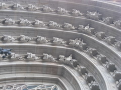 Catedral de Barcelona - Fachada principal (pakovalera) Tags: barcelona santa espaa art spai