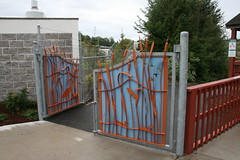 Jackson Bottom Wetlands Preserve Public Art (born1945) Tags: art public oregon gate bottom jackson wetlands preserve hillsboro