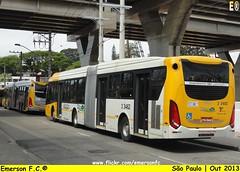 3 3462 - V.I.P. Unidade Imperador (Emerson F.C.®) Tags: bus mercedesbenz ônibus articulated articulado o500ua induscar millenniumbrt