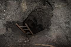 Seemhle (qitsuk) Tags: lost schweiz switzerland mine tunnel places mining ladder stollen sanktgallen walensee walenstadt lostplaces seemhle lochezen