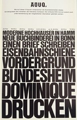 Stempel Helvetica Compact Versalien (cast on smaller body) (Indra Kupferschmid) Tags: caps helvetica haas specimen compact stempel umlaut dense versalien allcaps