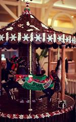 Mistletoe (travelingnorthagency) Tags: holiday gingerbread carousel mistletoe waltdisneyworld travelagency 2014 travelagent orlandoflorida travelingnorth travelingnorthagency