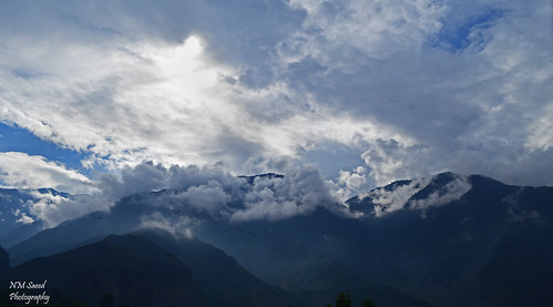 Chitral, the view from my window...