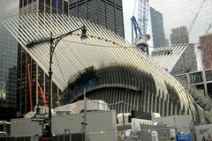 NYC: World Trade Center Transportation Hub (wallyg) Tags: nyc newyorkcity ny newyork construction downtown path manhattan worldtradecenter financialdistrict wtc gothamist santiagocalatrava pathstation fidi worldtradecenterpathstation worldtradecenterstation worldtradecentertransportationhub