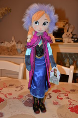 Plush Anna (MissLilieDolly) Tags: winter anna cold de la olaf frozen doll princess hiver hans disney des plush collection marshmallow dolly miss sven reine froid elsa lilie duc princesse peluche neiges kristoff poupe guimauve oaken weselton missliliedolly