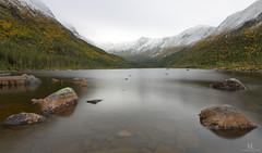 Lac-aux-Amricains (Maxime Legare-Vezina) Tags: landscape paysage longexposure lake mountains nature parcsqubec sepaq quebec canada automne fall canon