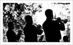 Cabanilles Jazz Band (Vicent Granell) Tags: granellretratscanonalgemes 2016 bn la xopera concert aire lliure msica directe mirada visi composici contrallum tres trompetes