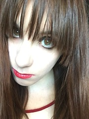 eye makeup testy (america220) Tags: modeling model fashion makeup hair beginner cute eyes goth sleepwear cutesy girl small petite lasvegas