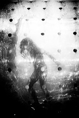 (willy vecchiato) Tags: abstract blackandwhite biancoenero monochrome monocramatico street candid woman child game motion mistery strange 2016 fuji x100s