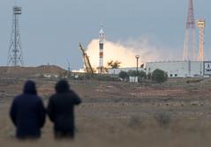 Expedition 49 Launch (NHQ201610190011) (NASA HQ PHOTO) Tags: kazakhstan baikonur roscosmos baikonurcosmodrome expedition49launch kaz expedition49 nasa joelkowsky soyuzms02