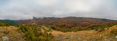 Ljukten u oblacima (Djordje Petrovic) Tags: ljukten goc serbia srbija panorama autumn fall mountain tokina1224mm nikond80 tokinalens tokina fog clouds foggy nature landscape