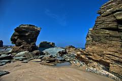 playa las catedrales (S H Candela) Tags: fz72 hdr raw rocas ribadeo galicia paisaje mar naturaleza panasonic