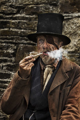 (Hobo50) Tags: select raggedvictorian claypipe thegreatunwashed eyepatch sticky