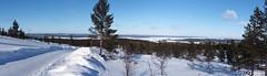 Frozen lake Inari (Hopeasuo) Tags: winter finland suomi inari snow ice frozen lapland