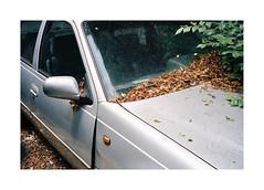 Somewhere In Bucharest (Punkroyaltiger) Tags: film analog mju kodak portra 400iso bucharest romania car