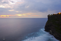 Dusk by the Pura (A. Wee) Tags: bali indonesia   uluwatu cliff sunset
