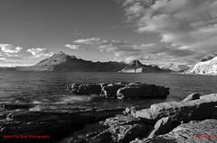Loch Scavaig and Cuillin Mountains mono signed (Scottsail) Tags: scottsail skye scotland cuillins loch skavaig elgol concordians