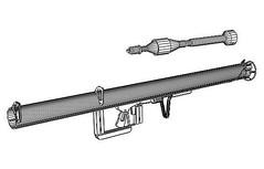 Full Size WWII Panzerschreck Anti-tank Rocket Launcher Free Paper Model Download (PapercraftSquare) Tags: 11 antitankrocketlauncher fullsize ofenrohr panzerschreck rocketlauncher rpzb wwii