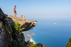 IMG_5077 (sergeysemendyaev) Tags: 2016 rio riodejaneiro brazil pedradagavea    hiking adventure best    travel nature   landscape scenery rock mountain    high forest  ocean   blue