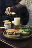 Sandwich de Falafel (Mateo González Lepesqueur) Tags: food product comida alimentos fotografia de lepesqueur mateo gonzalez canon yongnuo bogota colombia sandwich taller mojito drink sanduche cordoba monteria light lighting
