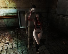 † 823 † (BillitaUnderZone) Tags: bloodyhorror pinkhustler artis zombiesuicide urbanstreet thecoven 1hundred girl secondlife virtual blogger sl pose newreleases event