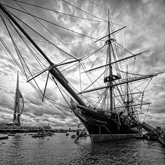 _Warrior - At Anchor_DSC01073 (Ian Gearing) Tags: portsmouth historic royal dockyard hms warrior battleship boat ship war warship