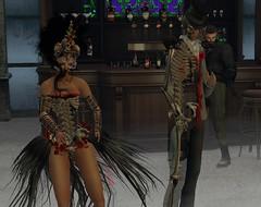 Jesie Halloween Party 22 (hunnibear86) Tags: halloween costume secondlife sl demon wolf lycan
