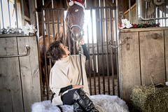 Kiss Me (AngelBeil) Tags: lou horse stable freedomhillhorserescue