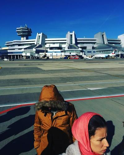 Думаете, это космическая база пришельцев? Нет, это всего лишь аэропорт Минска.