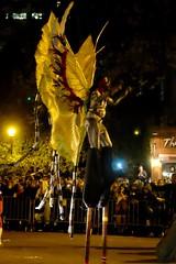2016 Village Halloween Parade (pburka) Tags: nyc manhattan parade halloween 2016 costume stilts wings