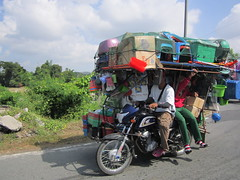 OVERLOADED (PINOY PHOTOGRAPHER) Tags: sanjose tarlac luzon philippines tricycle transportation asia world