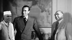 Pandit Nehru, Lord Mountbatten and Liaquat Ali Khan (Doc Kazi) Tags: india pakistan history partition independence mountbatten nehru jinnah liaquat baldev kripalani radcliffe din mohammad munir judges burma
