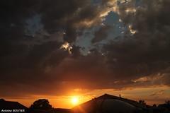 Coucher de soleil un soir d'orage (antoinebouyer) Tags: orage soir orange soleil temps mto nuage ciel sky cloud