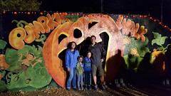 Family picture at Pumpkin Walk (Aggiewelshes) Tags: october 2016 phone s6 adrian lisa olsen jovie pumpkinwalk halloween family familypicture