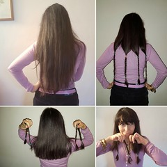 I will send my hair to www.littleprincess.org.uk it provides  free of charge real #hair #wigs to #children across #uk and #ireland that have lost their own due to #cancer or other #illesses #haircut #instagood (! . Angela Lobefaro . !) Tags: valdengo biella biellese capelli haare che cheveux hair longhair woman girl lilac trecce braiding donatingmyhair hairstyle fashion italy italia piedmont piemonte plaits charity