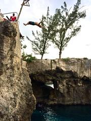 Backflip! (lawatha) Tags: jamaica negril rickscafe cliff jump dive backflip