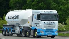 GB - Longcliffe DAF XF 106 SC (BonsaiTruck) Tags: longcliffe daf xf 106 lkw lastwagen lastzug silozug truck trucks lorry lorries camion silo bulk citerne powdertank