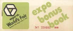 Expo Bonus Book - Expo '74 (The Cardboard America Archives) Tags: expo74 worldsfair 1974 spokane washington vintage