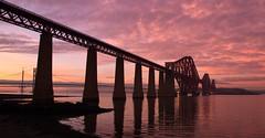 Rail Bridge Sunset 3 (craigguthrie1969) Tags: bridges scotland forth bridge
