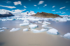 Fjallsrln Glacier Lagoon @Iceland (Benjamin MOUROT) Tags: iceland islande north northernlight viking canon 70d longexposure leefilter polarised lightroom6 photoshopcs3 1022mm landscape paysage poselongue europe july