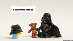 I am your father (black.zack00) Tags: am your father darth vader dark vador lego star wars toys funny afol minifig
