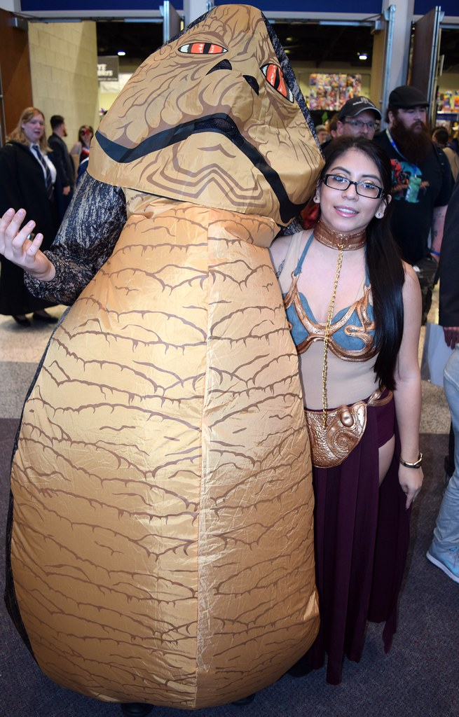 The World's Best Photos of slaveleia - Flickr Hive Mind Jabba The Hutt Cosplay