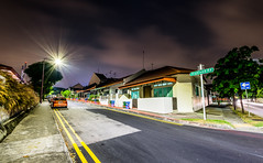 Highland Road (hugociss) Tags: highland road residential neighbourhood house serangoon kovan singapore night landed