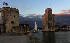 La Rochelle - France - le port (AlCapitol) Tags: larochelle port nikon d800 fortification mer ocean sea orage coucherdesoleil sunset storm
