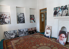 Old pictures in khomeini native house, Markazi province, Khomein city, Iran (Eric Lafforgue) Tags: ayatollah colorimage commemorate glorification glorify hero heroic history horizontal house indoors iran khomein khomeini memorial memory middleeast persia photography politics propaganda revolutionary ruhullahmusawikhomeini souvenir thepast khomeincity markaziprovince