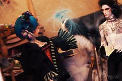 Magical discourse (Roterwolkenvogl) Tags: fairyland mnf minifee rfa dollshe fashion 28m grant phillippe magic laboratory witchcraft